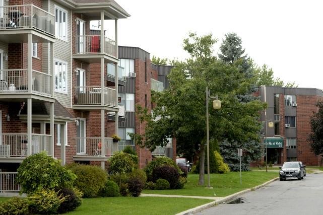 La Société canadienne d'hypothèques et de logement a... (Photo Bernard Brault, archives La Presse)