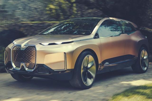 Le concept iNext de BMW... (PHOTO FOURNIE PAR BMW)