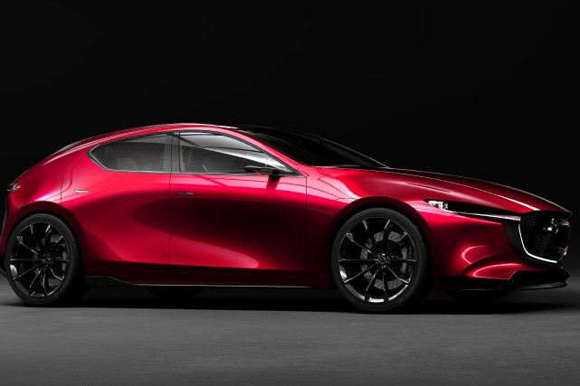 L'étude style Mazda Kai... (Photo fournie par Mazda)