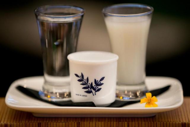 Montréal découvre enfin le saké. Le festival Kampai... (Photo François Roy, archives La Presse)