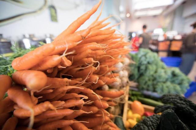 Les gens qui disent manger régulièrement des aliments... (Photo Ivanoh Demers, Archives La Presse)