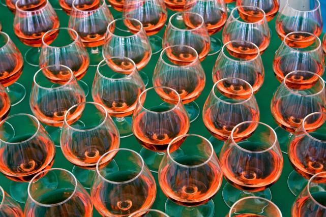 Six mille verres. Polis à la main, minutieusement, un par un. Et ce n'est que... (Photo Thinkstock)