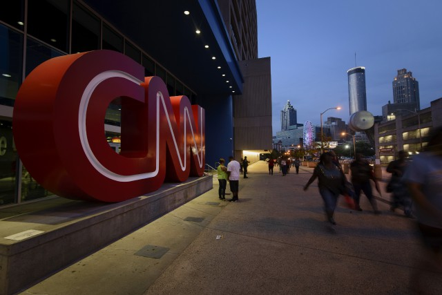 Le siège de CNN situé à Atlanta, en... (Photo Michael A. Schwarz, archives Bloomberg)