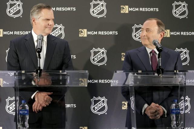 Le président et directeur général de MGM Resorts,... (Photo Seth Wenig, Associated Press)