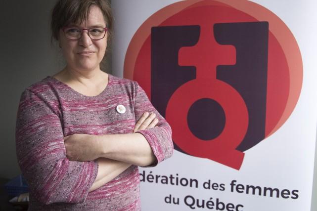 La présidente de la Fédération des femmes du... (Photo Ryan Remiorz, THE CANADIAN PRESS)