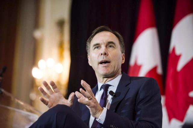 Bill Morneau, ministre fédéral des Finances... (photoChristopher Katsarov, archives la presse canadienne)