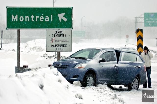 De nombreux services d'assistance routière peuvent venir vous... (photo Brault Bernard La Presse)