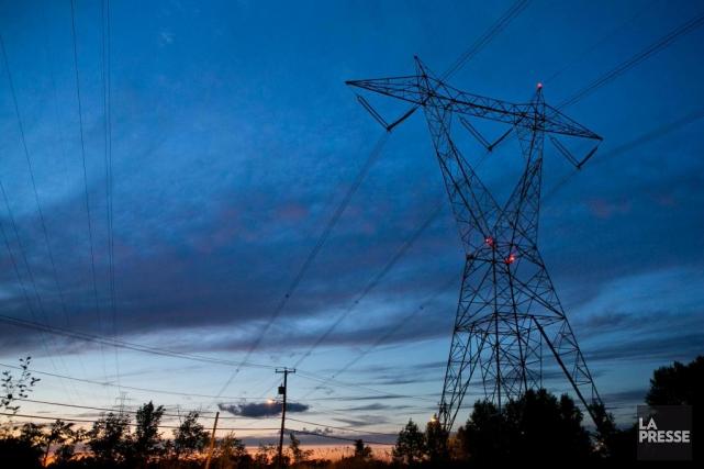 François Legault veut augmenter les exportations d'hydroélectricitévers l'Ontario... (Photo Hugo-Sébastien Aubert, Archives La Presse)