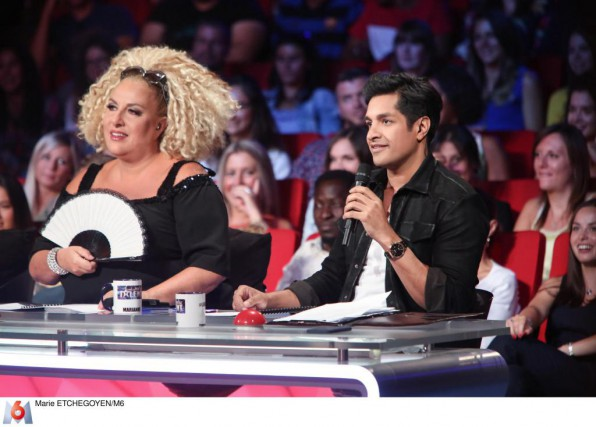 Marianne James et Sugar Sammy sont membres du... (Photo Marie Etchegoyen. fournie par M6)