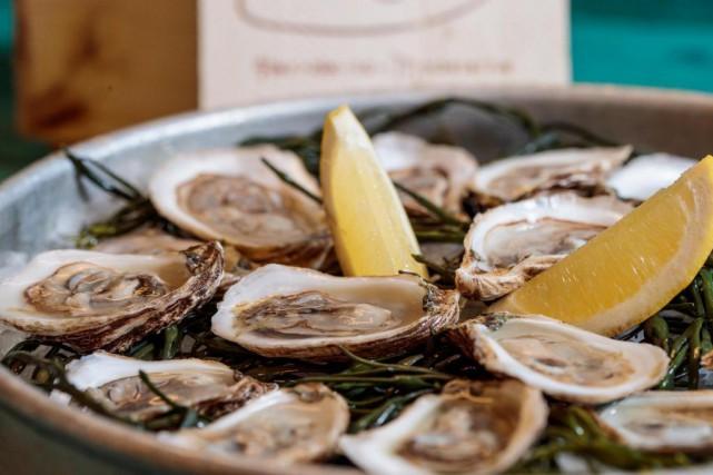 Les huîtres sont idéales pour chasser la grisaille... (Photo Hugo-Sébastien Aubert, Archives La Presse)