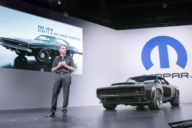 Au Salon SEMA de Las Vegas, Chrysler a... (Photo FCA)