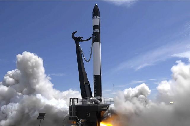 Rocket Lab, fondée en 2006, a réussi en... (Photo KIERAN FANNING AND SIMON MOFFATT, ROCKET LAB VIA AFP)