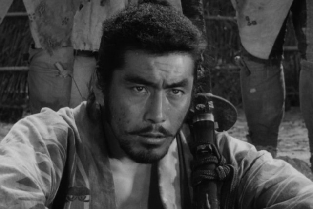 Toshirô Mifune dans Les sept samouraïs, chef-d'oeuvre d'Akira... (PHOTO FOURNIE PAR COLUMBIA PICTURES)