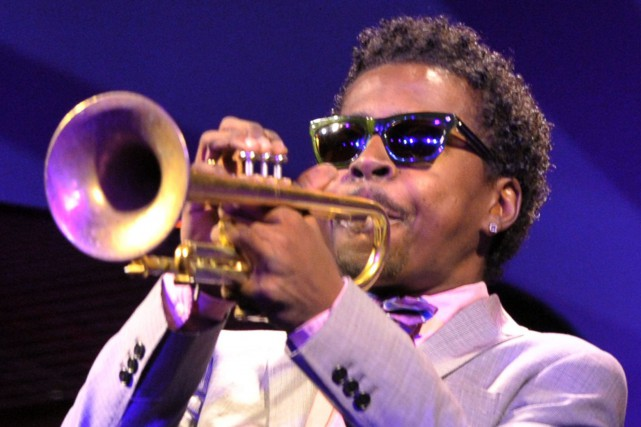 Roy Hargrove en 2012,... (Photo EVA HAMBACH, archives Agence France-Presse)