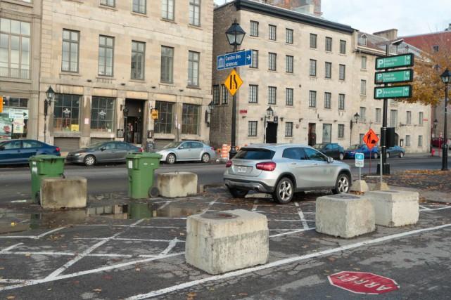 Montréal est une ville qui se marche. Une ville qui se pédale. Une ville qui... (Photo Martin Chamberland, La Presse)
