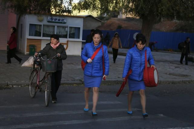 «La violence sexuelle en Corée du Nord est... (Photo Dita Alangkara, archives AP)