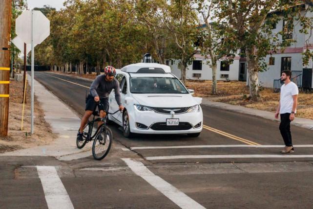 Il est inévitable qu'un système de conduite autonome... (PhotoWaymo)