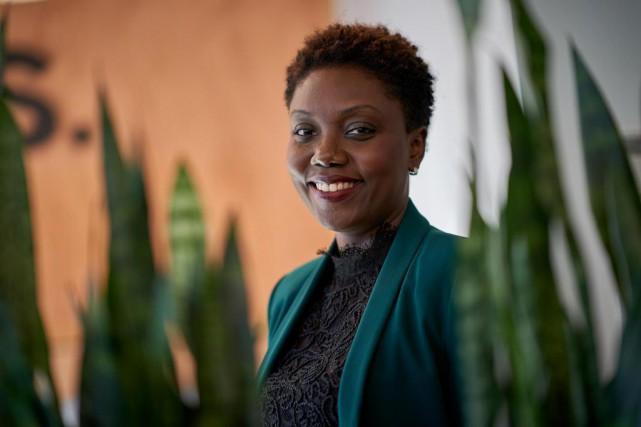 Vanessa Cherenfant estdirectrice chez Sadax Technologies.... (Photo André Pichette, La Presse)
