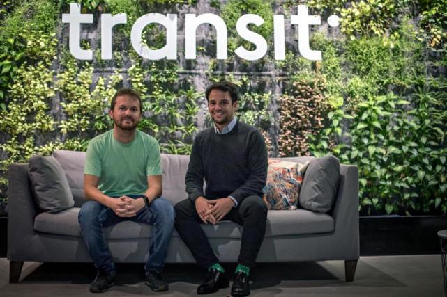 Samuel Vermette et Jake Sion, fondateurs de Transit... (Photo Olivier Jean, La Presse)
