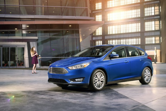 Ford Focus 2018.... (Photo Ford)