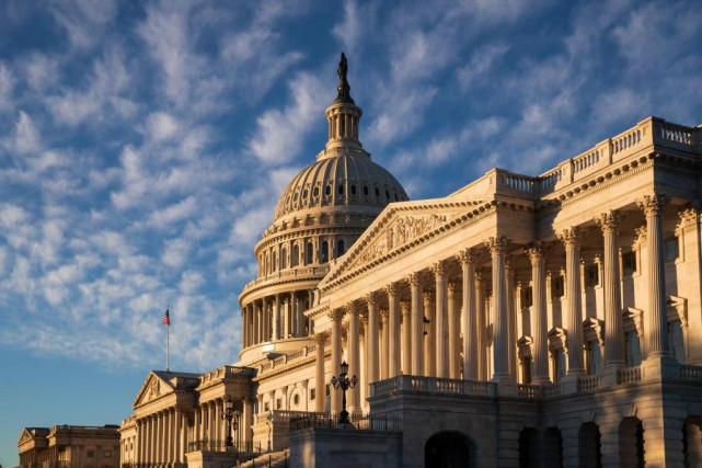 «Le Sénat est aujourd'hui un peu plus rouge,... (PHOTO J. SCOTT APPLEWHITE, ASSOCIATED PRESS)
