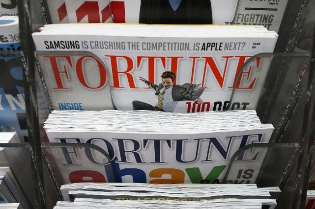 Le magazine américain Fortune, célèbre pour ses classements des... (Photo MARIO TAMA, archives Agence France-Presse)