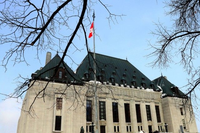 La Cour suprême avait déjà conclu dans un... (Photo Étienne Ranger, archives Le Droit)