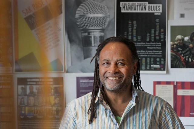 Rodney Saint-Éloi, directeur de la maison Mémoire d'encrier... (PHOTO ROBERT SKINNER, LA PRESSE)