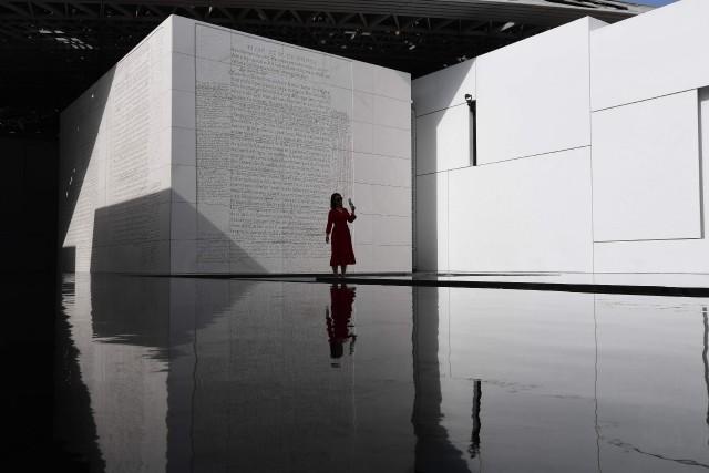 Le Louvre Abu Dhabi a accueilli plus d'un... (Photo GIUSEPPE CACACE, AFP)