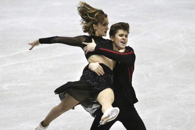 Carolane Soucisse et Shane Firus... (Photo Koji Sasahara, Associated Press)