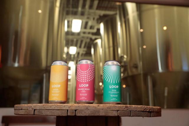 Les bières Loop sont faites à partir de... (Photo Martin Chamberland, La Presse)