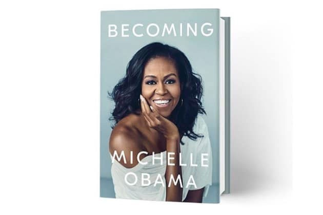 Le livre Becoming de Michelle Obama, dont on prévoit déjà la vente à... (Capture d'écran)