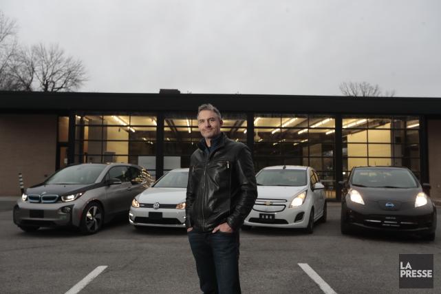 Pascal Gosset, président-directeur général de Véhicules électriques Muze... (Photo Martin Chamberland, La Presse)