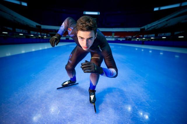 Champion mondial junior du départ groupé, David La... (Photo David Boily, La Presse)
