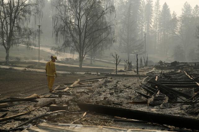 nouvel ordre mondial | Incendie dans le nord de la Californie: plus de 1000 disparus