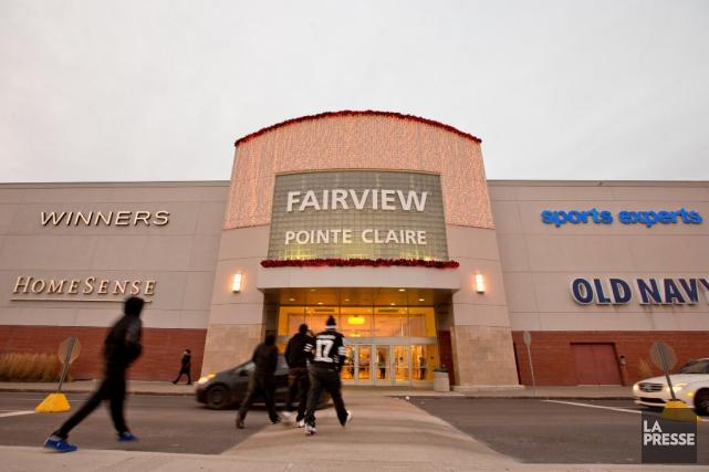 Le centre Fairview Pointe-Claire aura droit à une... (Photo David Boily, La Presse)