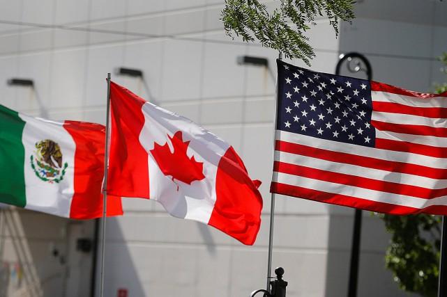 Manifestation contre l'Accord USA-Mexique-Canada dimanche à Montréal