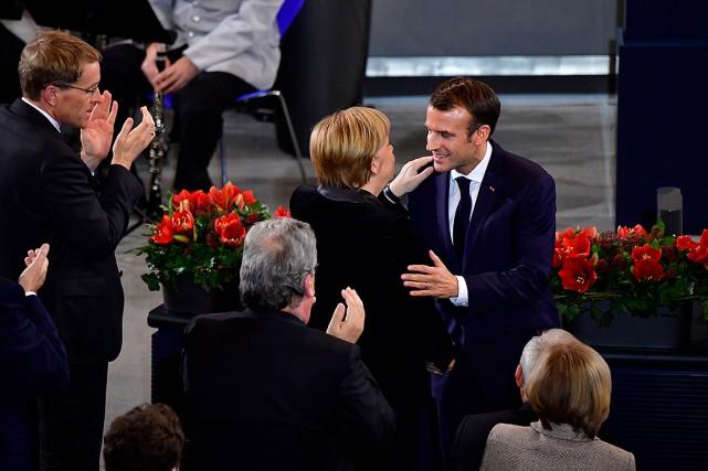 Macron veut une relance de l'Europe pour éviter un «chaos» mondial