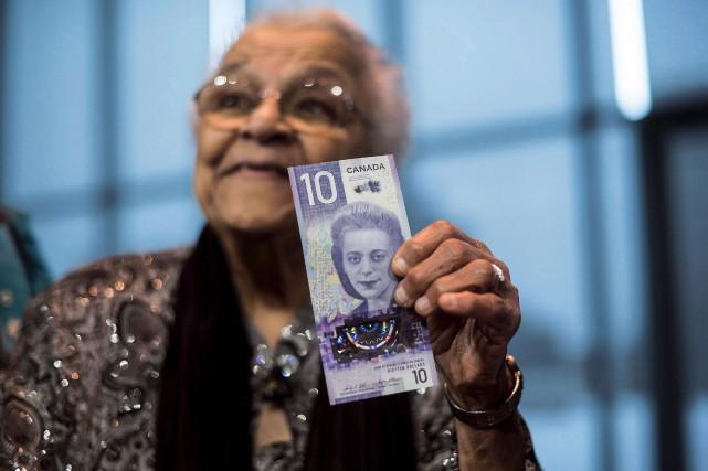 ViolaDesmond: le billet de 10$ en circulation lundi