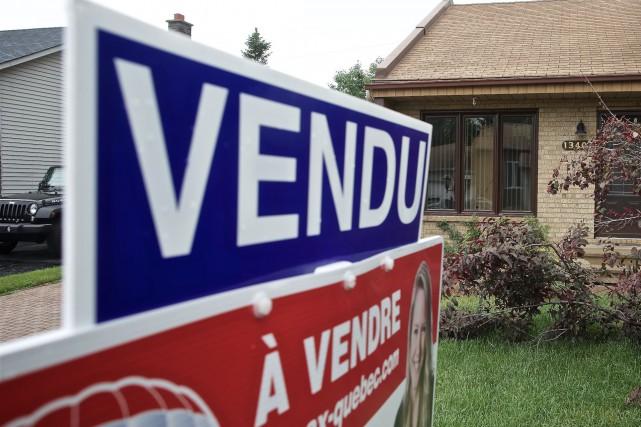 Après avoir établi un record de ventes en 2017, le marché immobilier du Québec... (Photo André Pichette, archives La Presse)