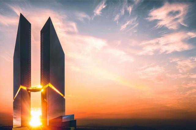 Le projet culminant à 168 mètres ne manque... (Image fournie par Devimco Immobilier)