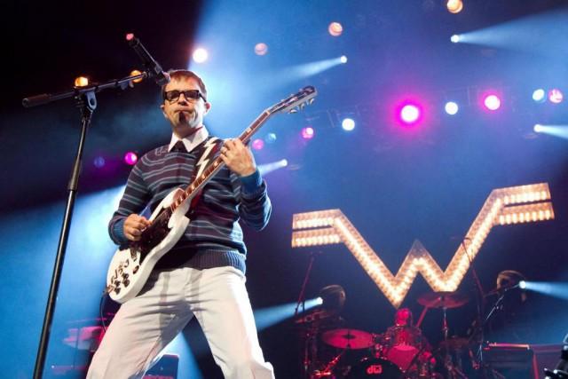 Weezer... (Photo Hugo-Sébastien Aubert, La Presse)