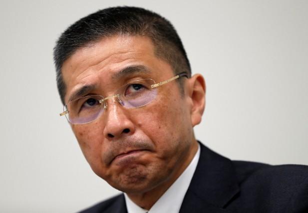 Le PDG de Nissan Hiroto Saikawa durant la... (Photo Issei Kato, REUTERS)