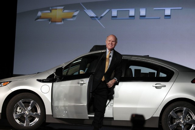 General Motors a annoncé ce matin qu'elle cessera... (Photo Reuters)
