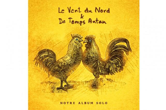 Notre album solo,du Vent du Nord etDe Temps... (Image fournie par La Compagnie du Nord)