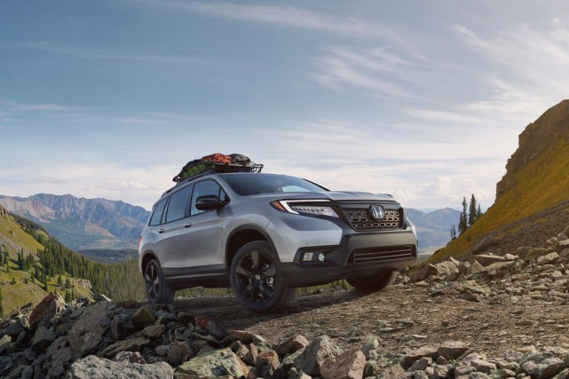 Le Honda Passport 2019.... (Photo honda)
