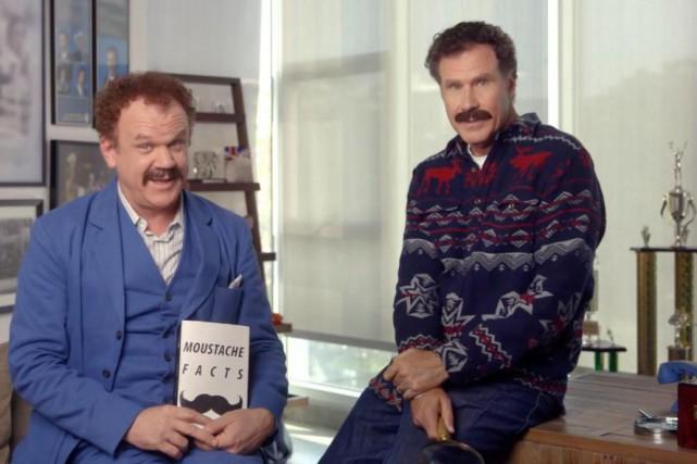 John C. Reilly et Will Ferrell seront de... (Photo tirée d'une vidéo)