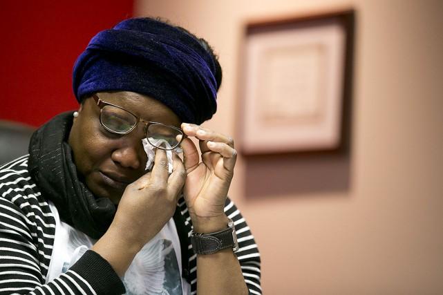 Les parents de Blessing affirment être totalement dévastés... (François Roy, La Presse)