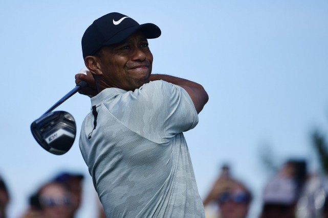 Tiger Woods... (PHOTO AP)
