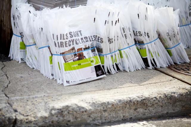 TC Transcontinental souhaite continuer de distribuer le Publisac... (Photo Sarah Mongeau-Birkett, archives La Presse)